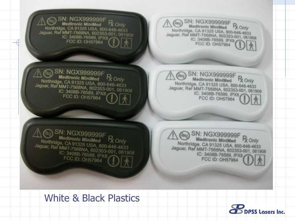 White & Black Plastics