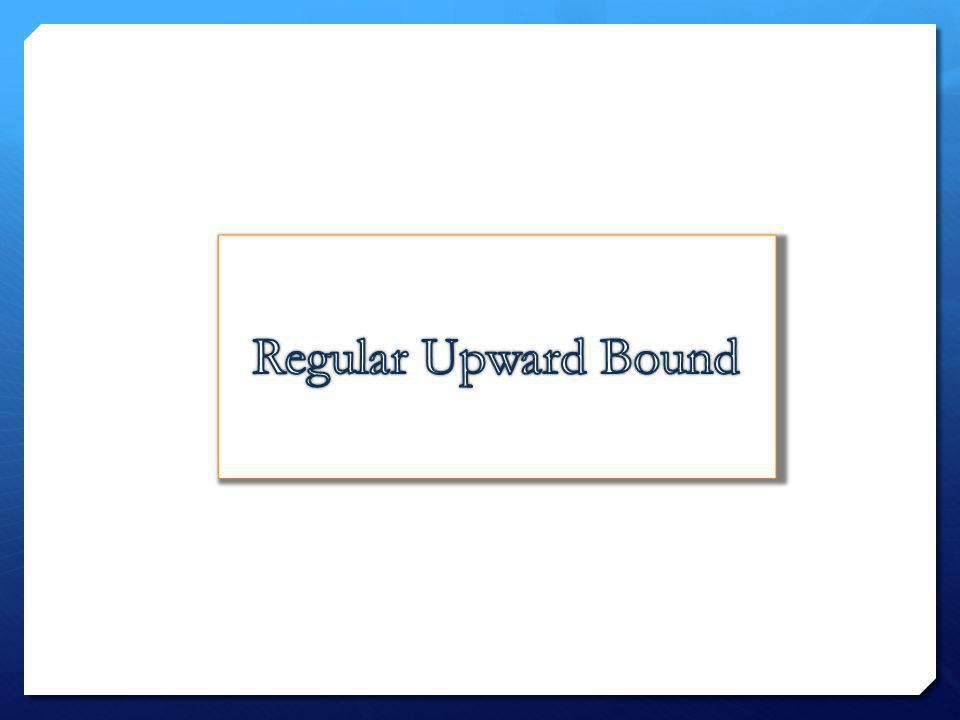 Regular Upward Bound