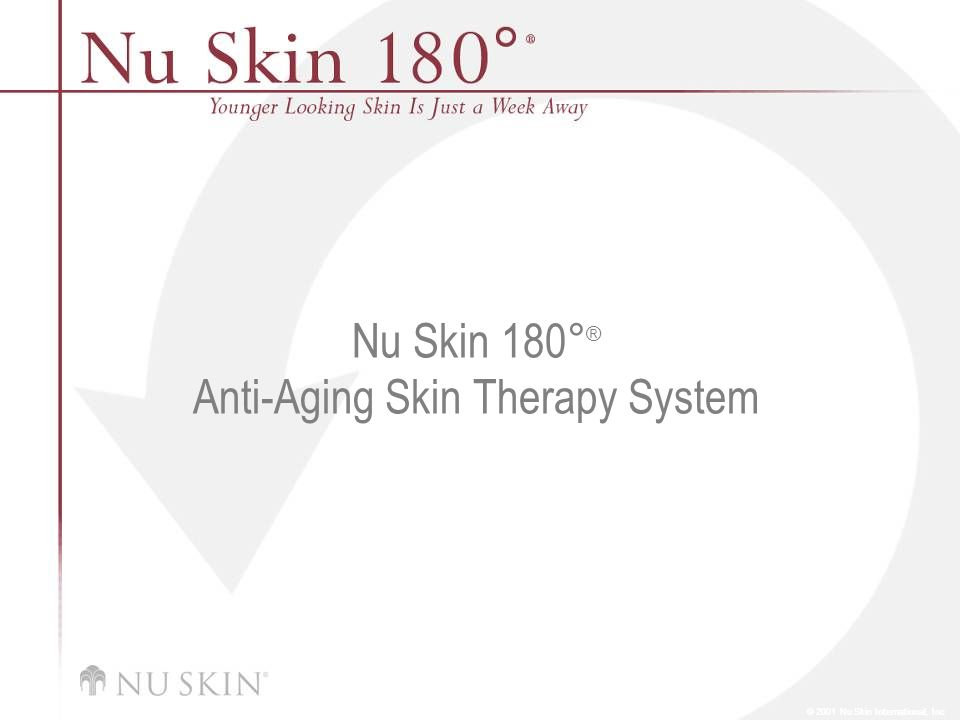 Nu Skin 180°® Anti-Aging Skin Therapy System