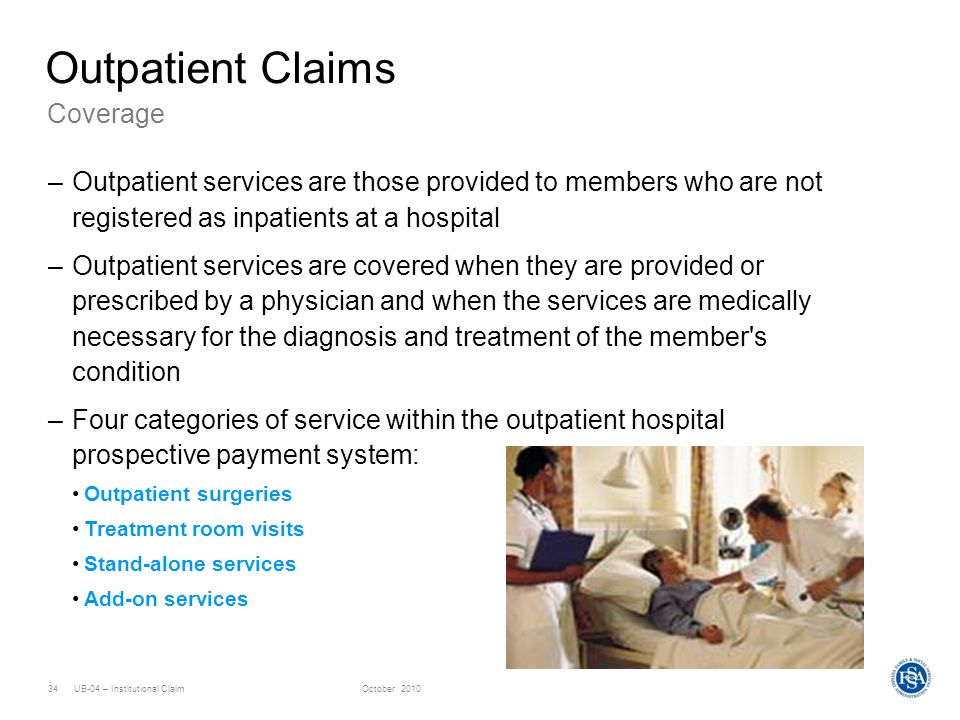 Outpatient Claims Coverage