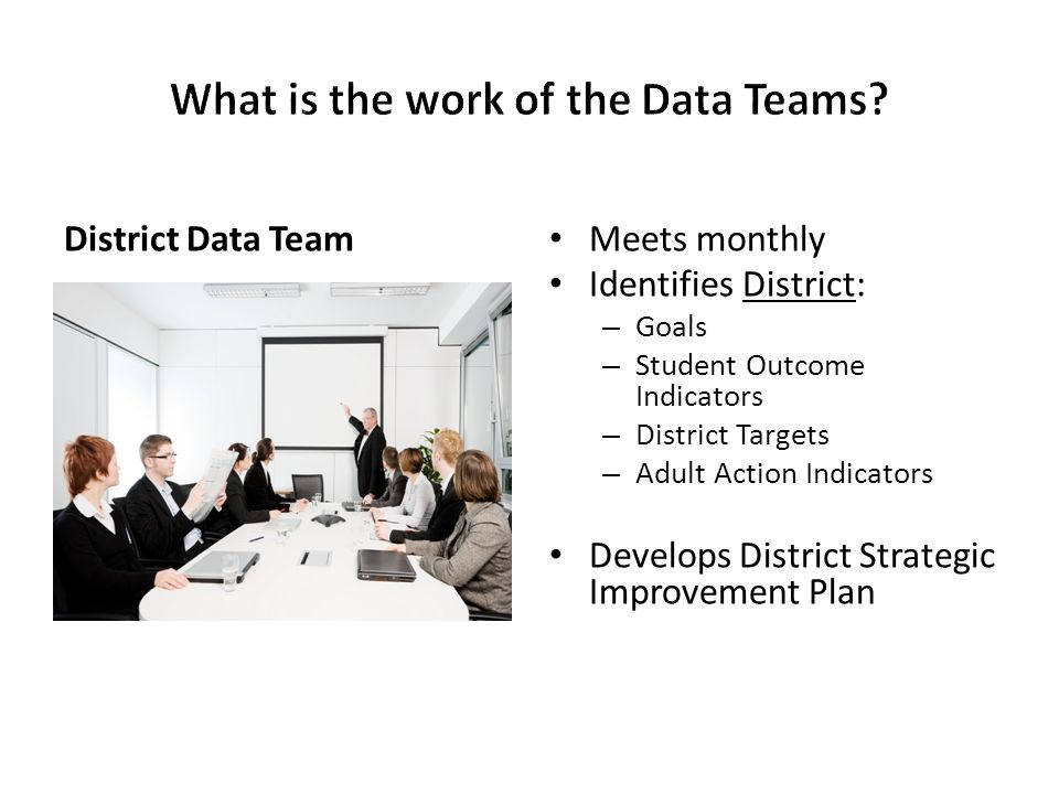 What is the work of the Data Teams