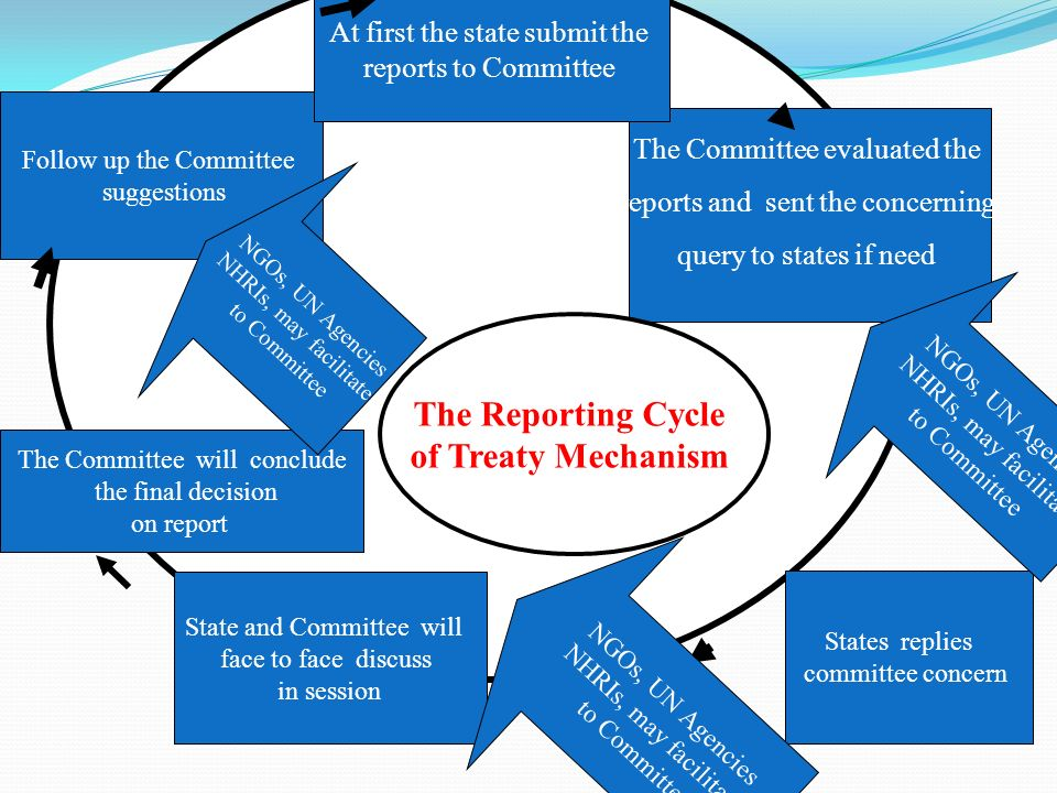 The Reporting Cycle of Treaty Mechanism