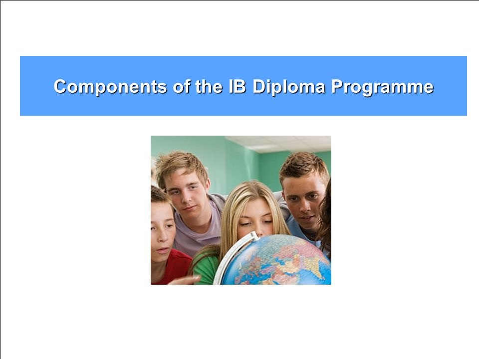 Components of the IB Diploma Programme