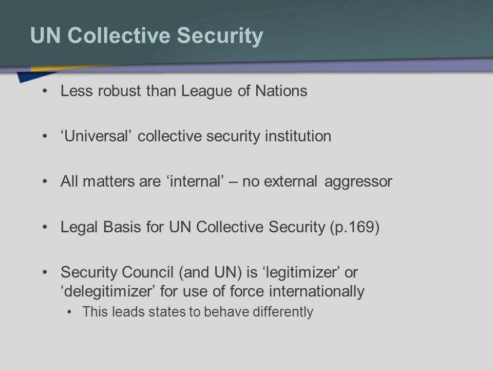 UN Collective Security