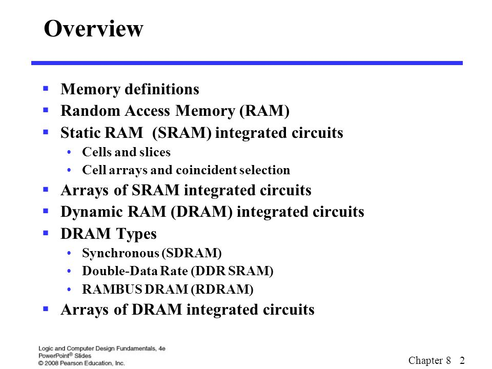 Overview memory definitions random access memory (ram) ppt download.