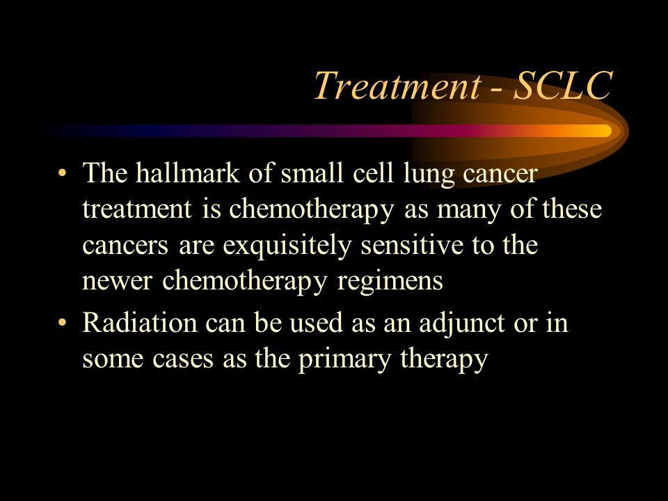 Treatment - SCLC
