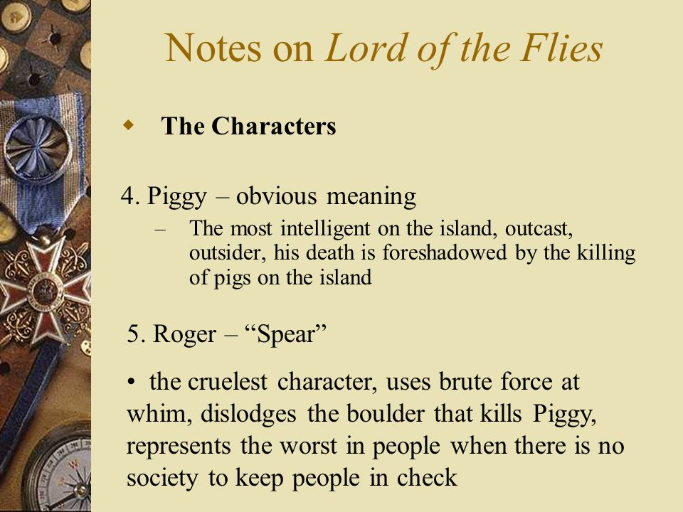 Notes On Lord Of The Flies Ppt Video Online Download