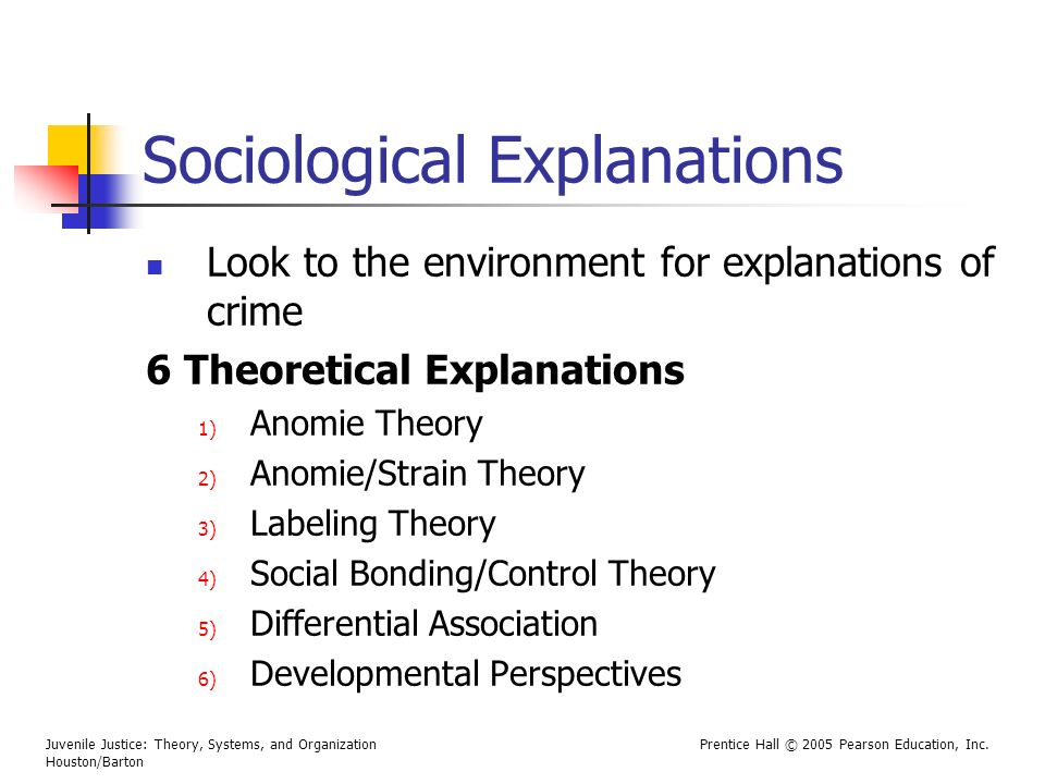 Sociological Explanations