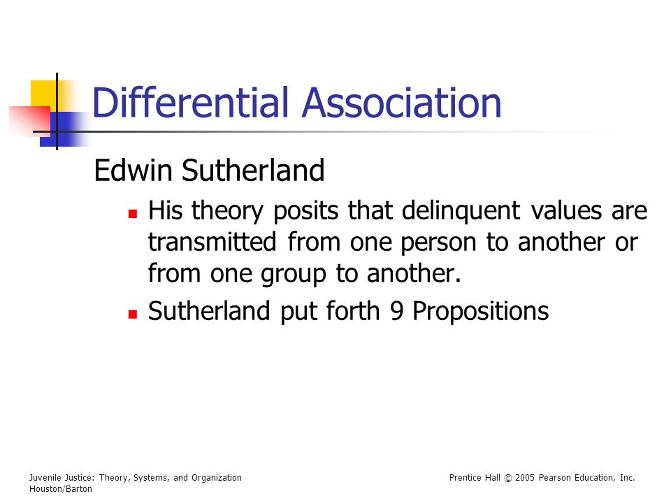 Differential Association