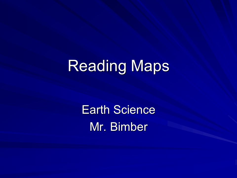 Earth Science Mr. Bimber