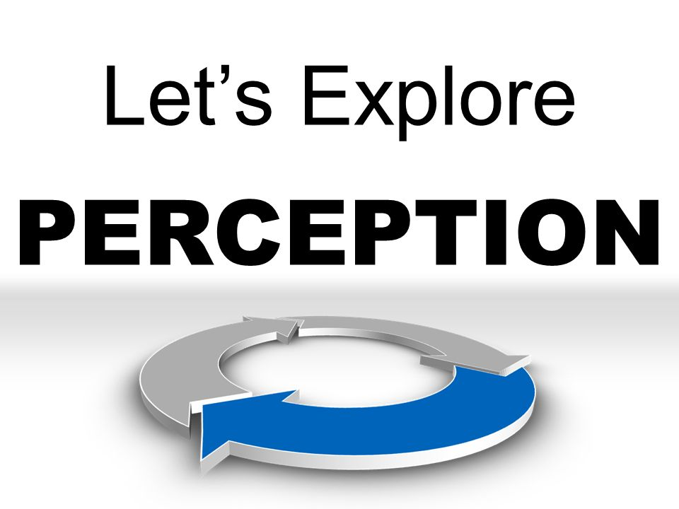 Let's Explore PERCEPTION