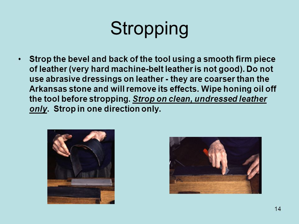Stropping