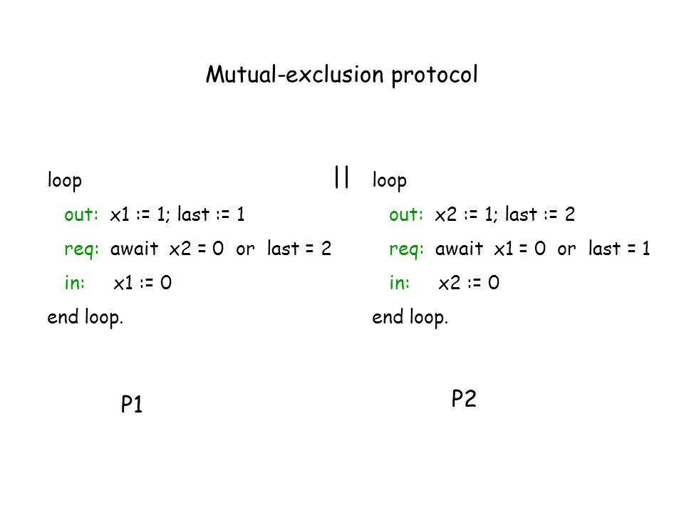 Mutual-exclusion protocol