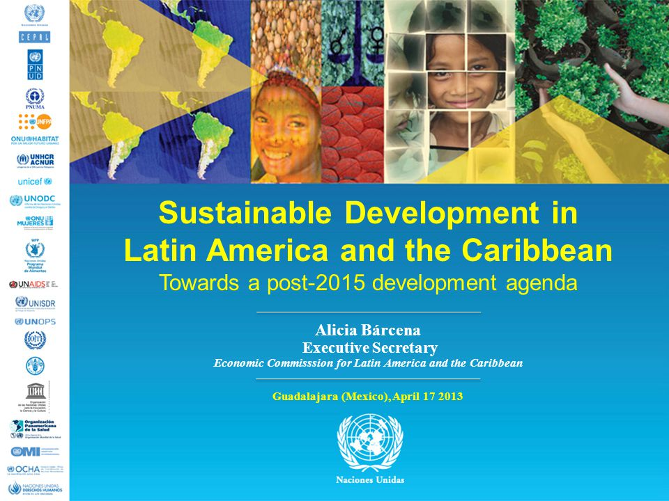 Sustainable Development in Latin America and the Caribbean