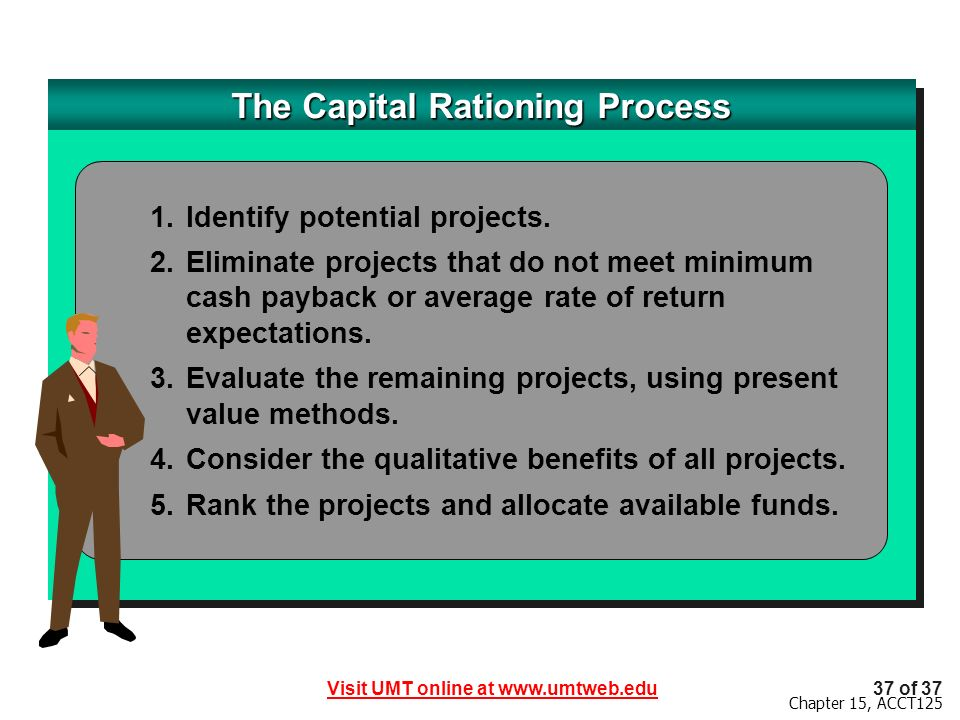 The Capital Rationing Process