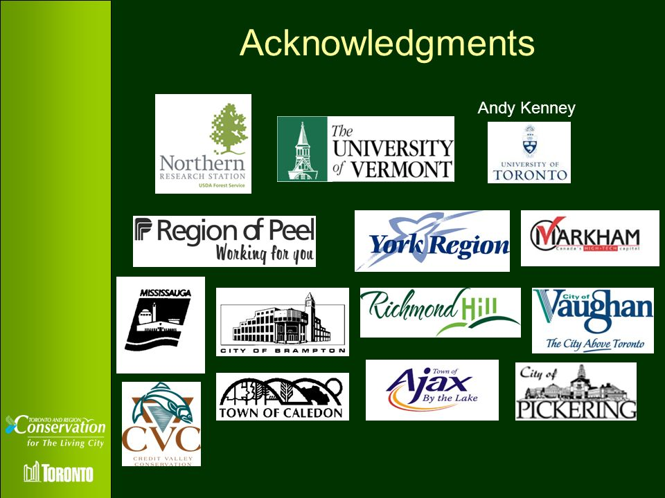 Acknowledgments Andy Kenney