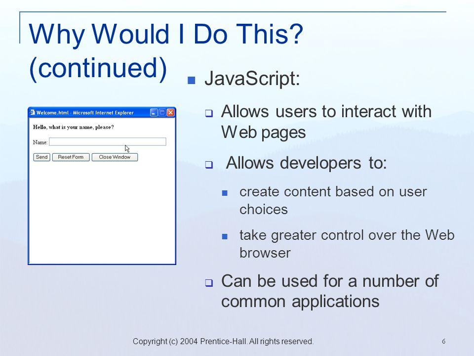 Essentials for Design JavaScript Level One Michael Brooks