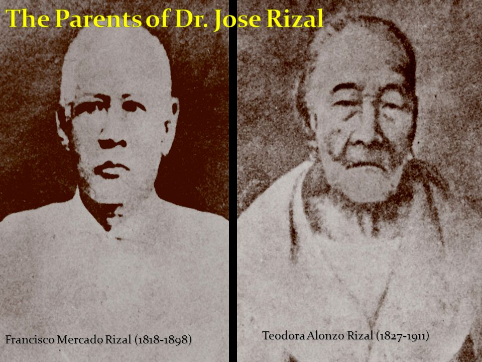 The Parents of Dr. Jose Rizal