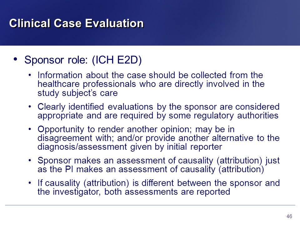 Clinical Case Evaluation