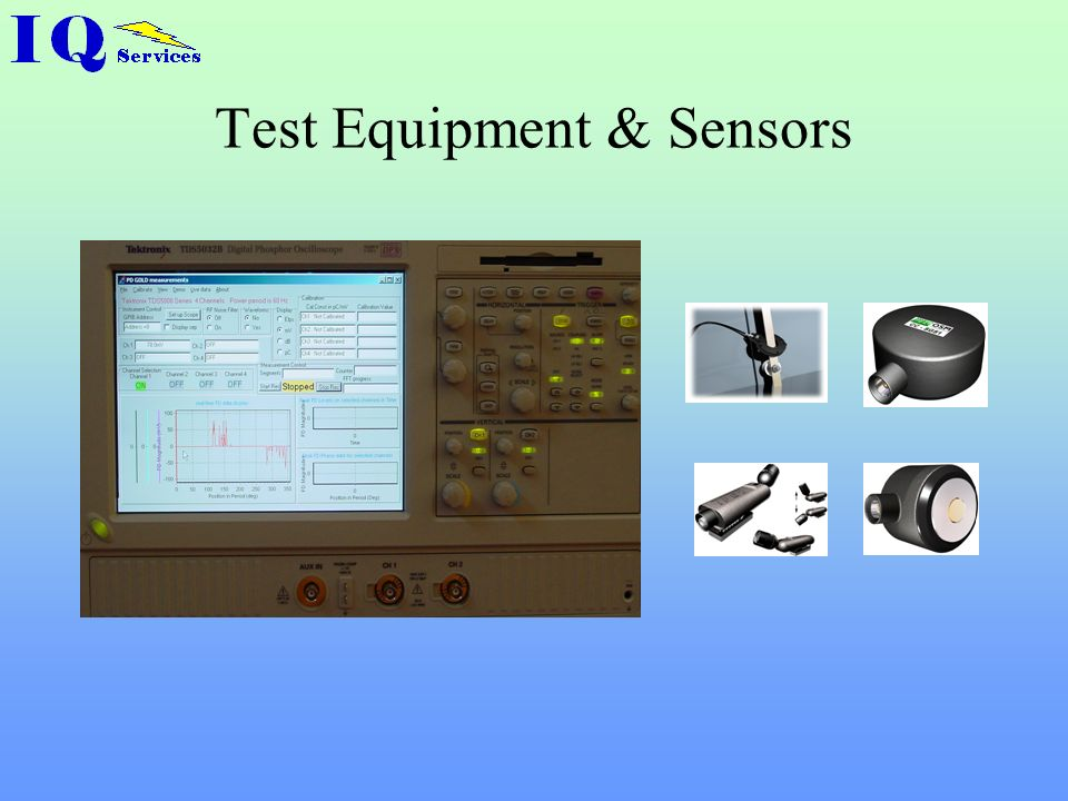 Test Equipment & Sensors