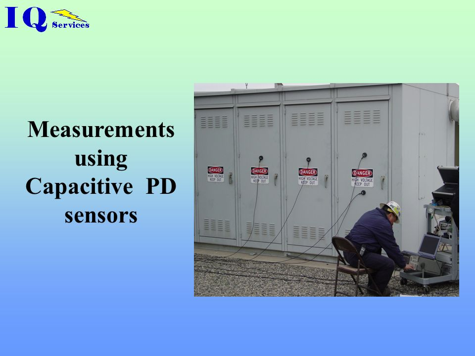 Measurements using Capacitive PD sensors