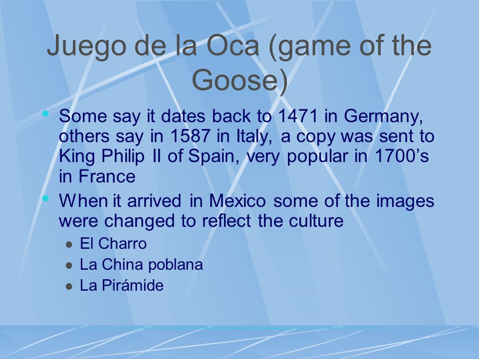 Juego de la Oca (game of the Goose)