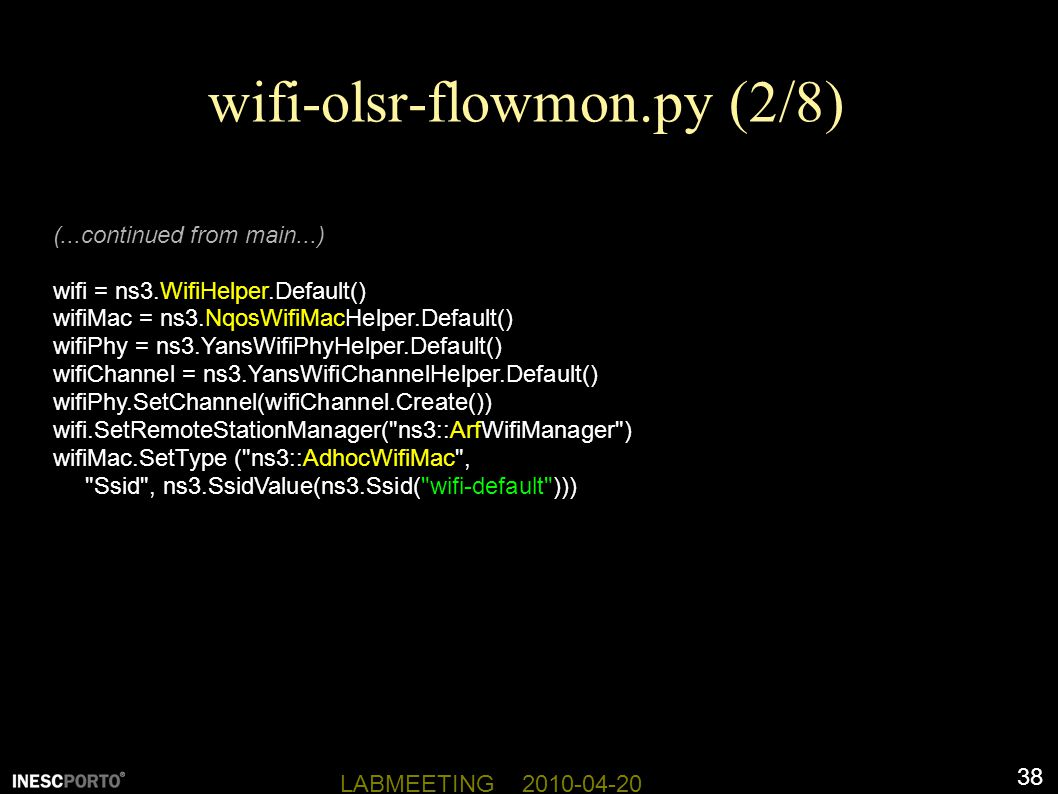 NS-3: Network Simulator 3 - ppt download