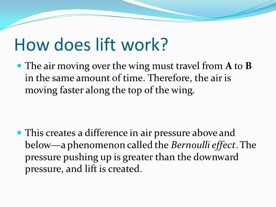 How does lift work