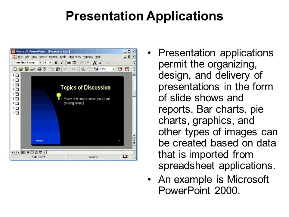 Presentation Applications