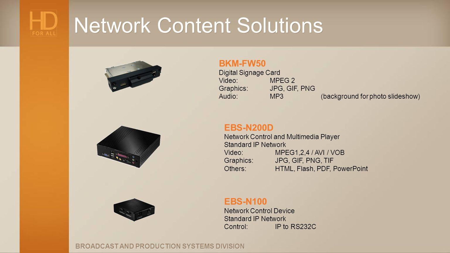 Network Content Solutions