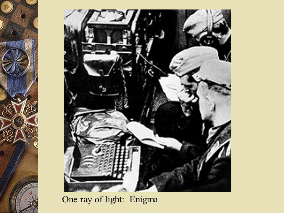One ray of light: Enigma