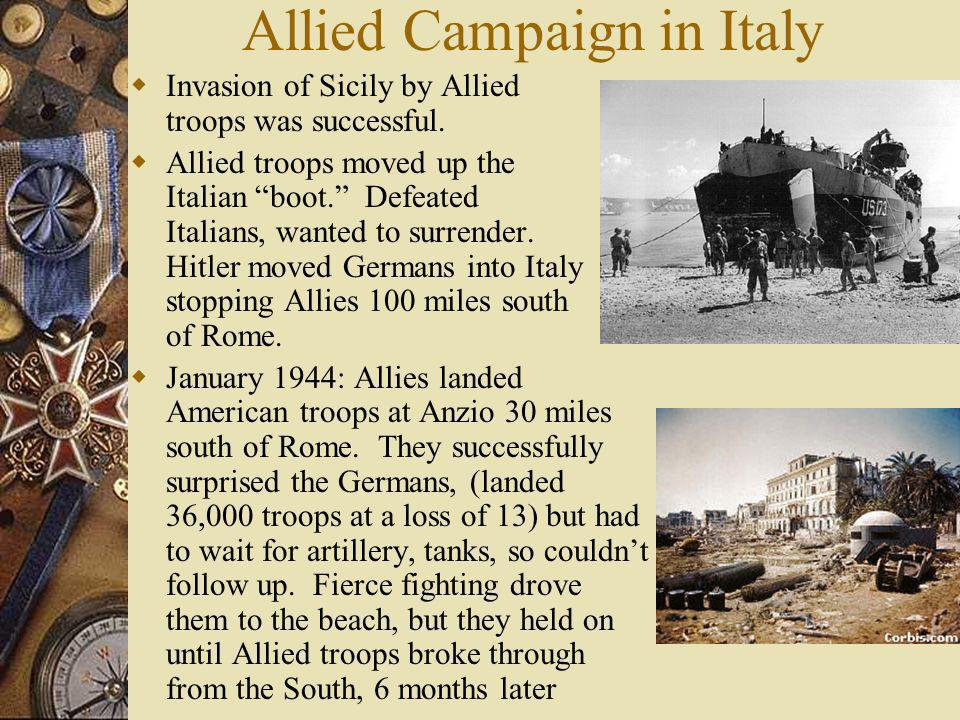 Allied Campaign in Italy