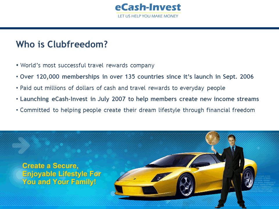 Who is Clubfreedom World's most successful travel rewards company