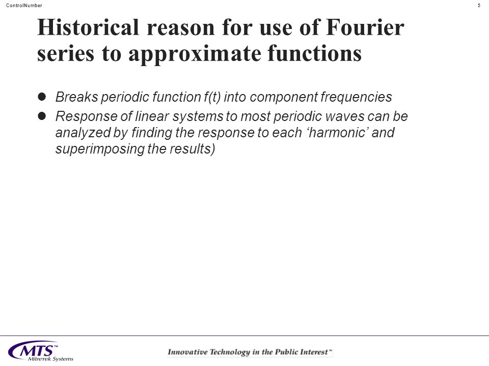 Historical reason for use of Fourier series to approximate functions