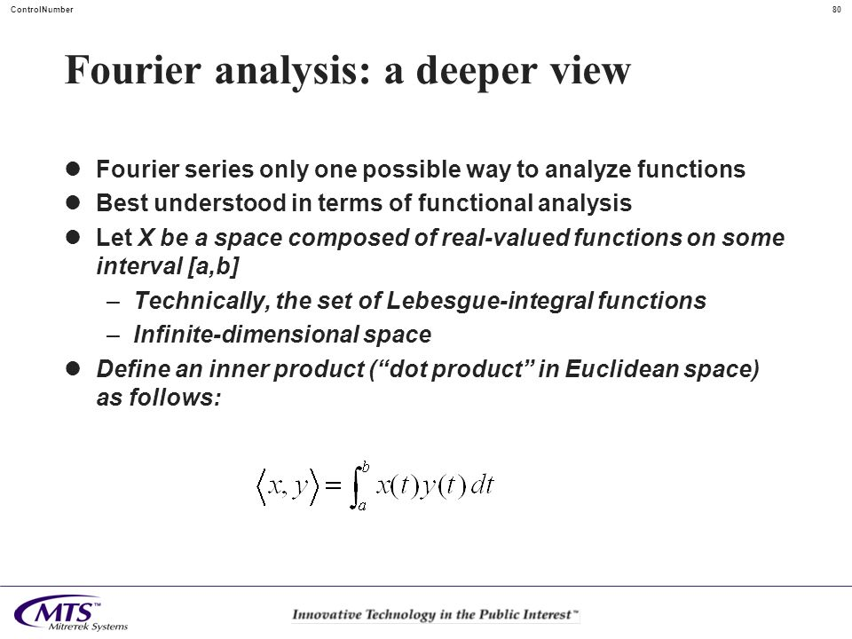 Fourier analysis: a deeper view
