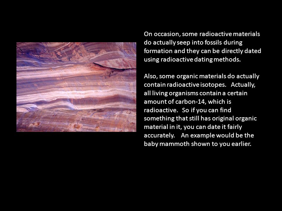 The type of fossil dating method that relies on radioactive isotopes is the