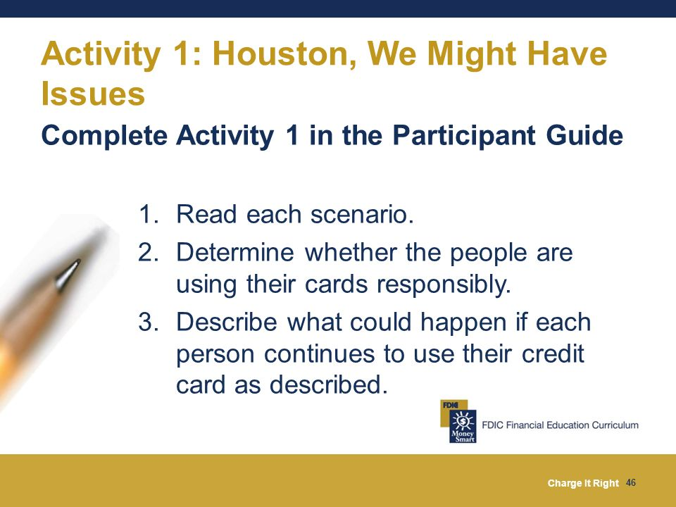 Activity 1: Houston, We Might Have Issues