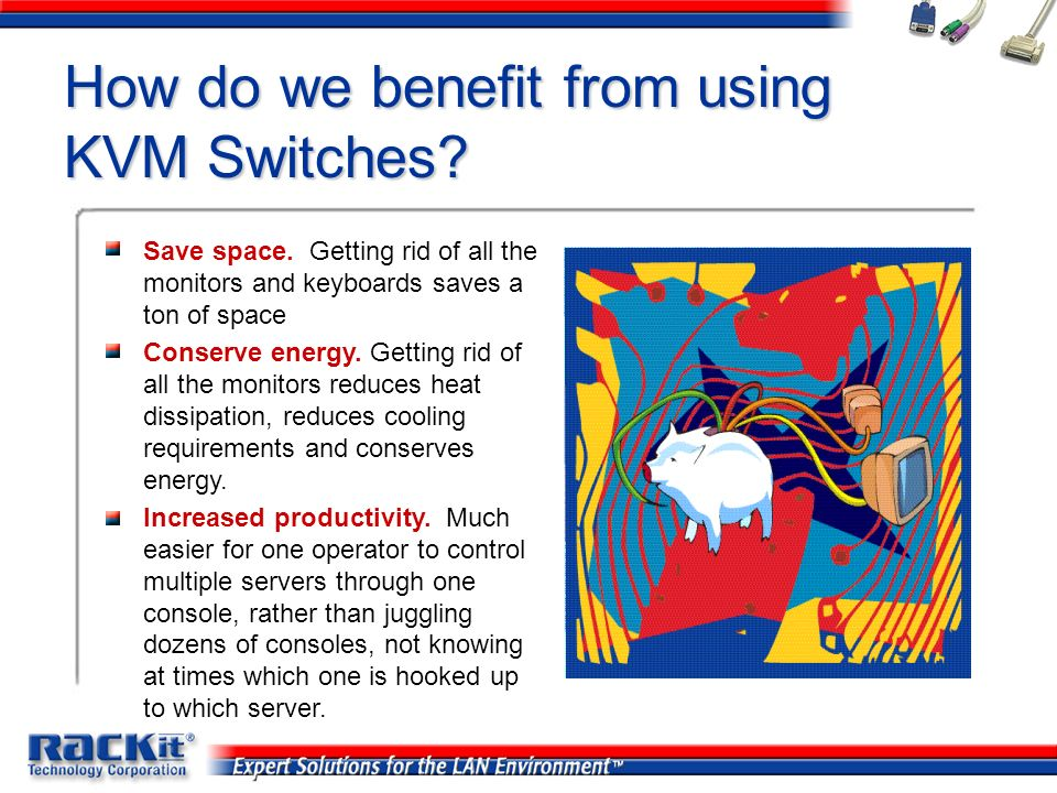 How do we benefit from using KVM Switches