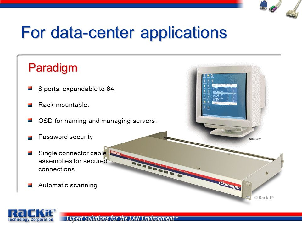 For data-center applications