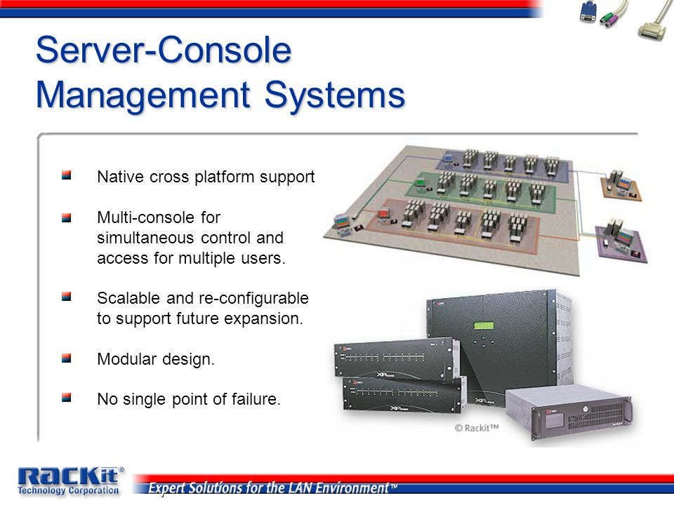 Server-Console Management Systems