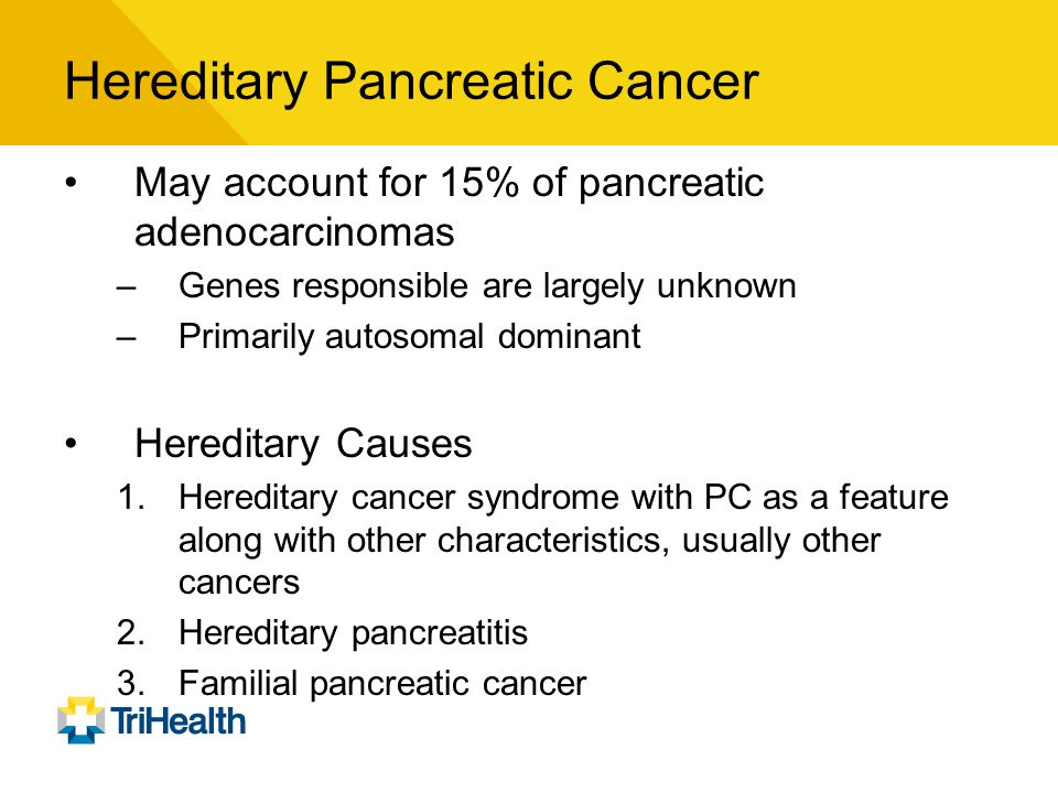 Familial cancer features.