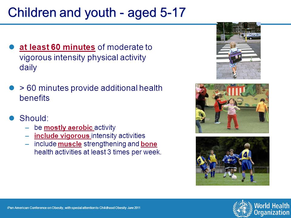 Children and youth - aged 5-17