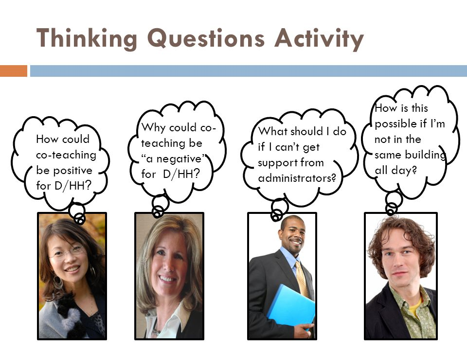 Thinking Questions Activity