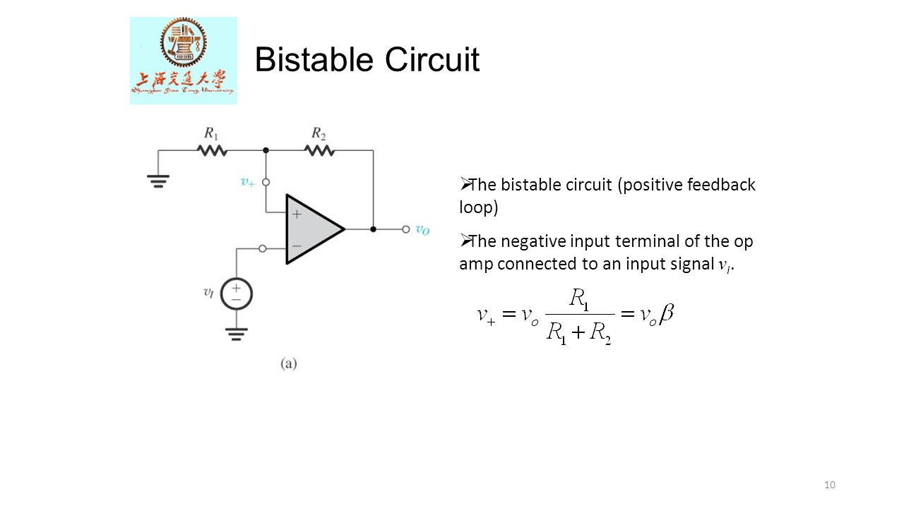 The Op Amp Differentiator Ppt Video Online Download Comparator Circuit With Hysteresis Implemented By Applying Positive Bistable Feedback Loop
