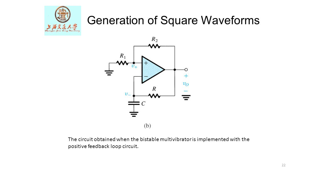 Bistable Circuit Means Wiring And Diagram Hub Relay The Op Amp Differentiator Ppt Video Online Download Monostable