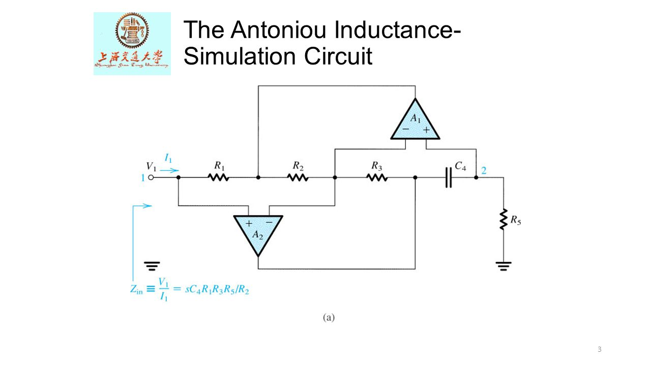 The Op Amp Differentiator Ppt Video Online Download Circuit Diagram Simulator 3 Antoniou Inductance Simulation