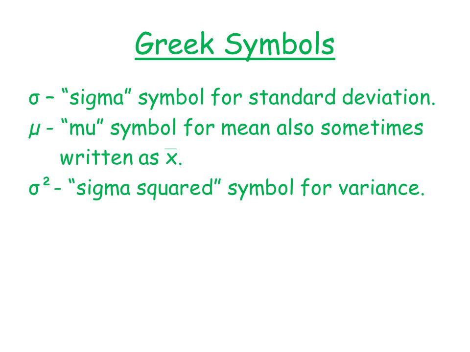 Greek Symbol For Median Image Collections Free Symbol And Sign Meaning