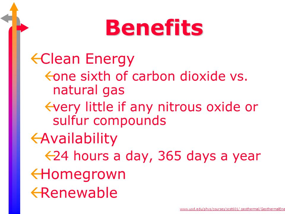 Benefits Clean Energy Availability Homegrown Renewable