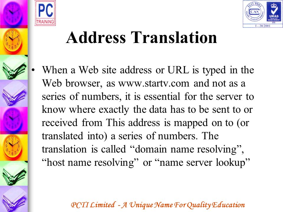 Address Translation