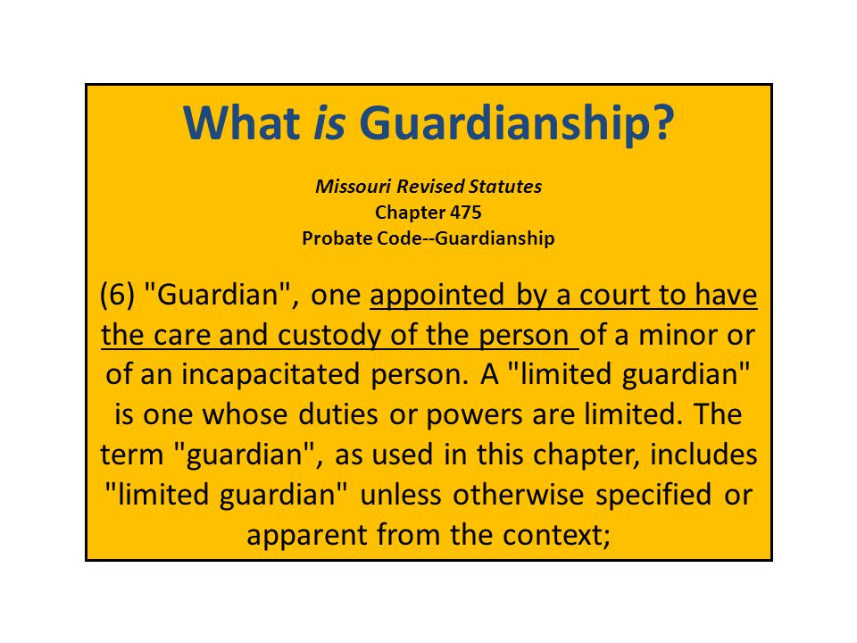 MO Guardianship: Understanding Your Options & Alternatives